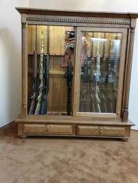 Custom Gun Cabinets - Amish Custom Gun Cabinets