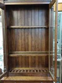 Amish Custom Gun Cabinet with Safe