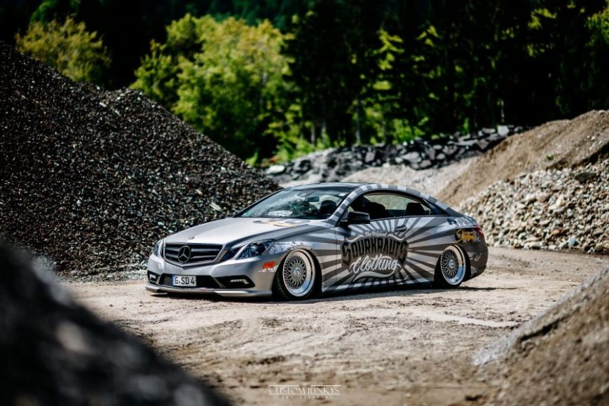 mercedes benz E coupe