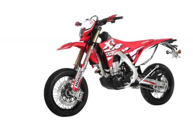 CRF450XR Supermoto 02