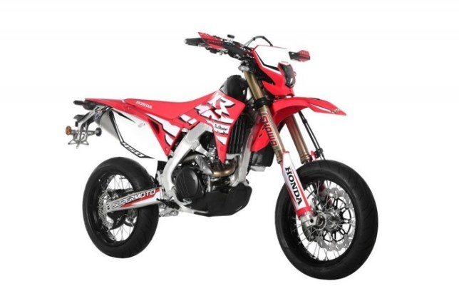 CRF450XR Supermoto 06