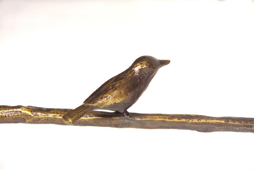 Giacometti Detail Bird Table