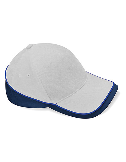 Beechfield Teamwear Competition Cap French Navy//Bright Royal//White ONE