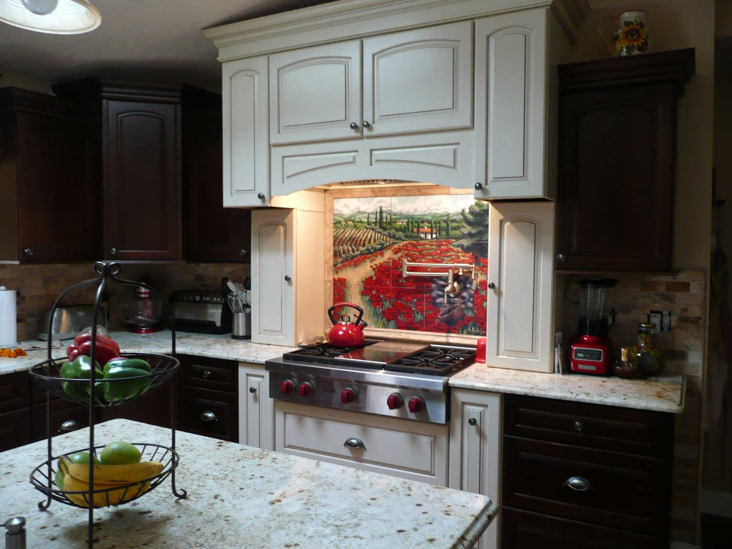 kitchen backsplash murals remodeling naples fl custom tiles and tile mural pictures