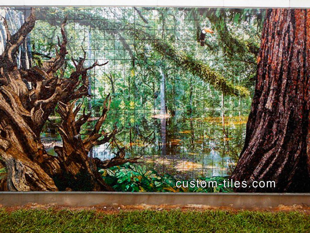 Custom Tile, Kitchen Backsplash Tile, Floor Tile, Outdoor