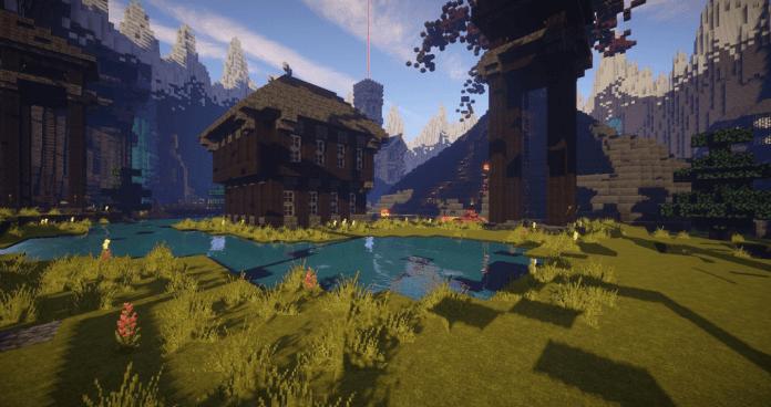 Minecraft videogame screenshot