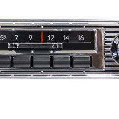 Chevy Radio 57 Dodge Ram 1500 Wiring Diagram Free Custom Audio Autosound S Slidebar Fits The Following Vehicles 65 Impala 55 Car 67 72 Gmc Truck 62 Nova
