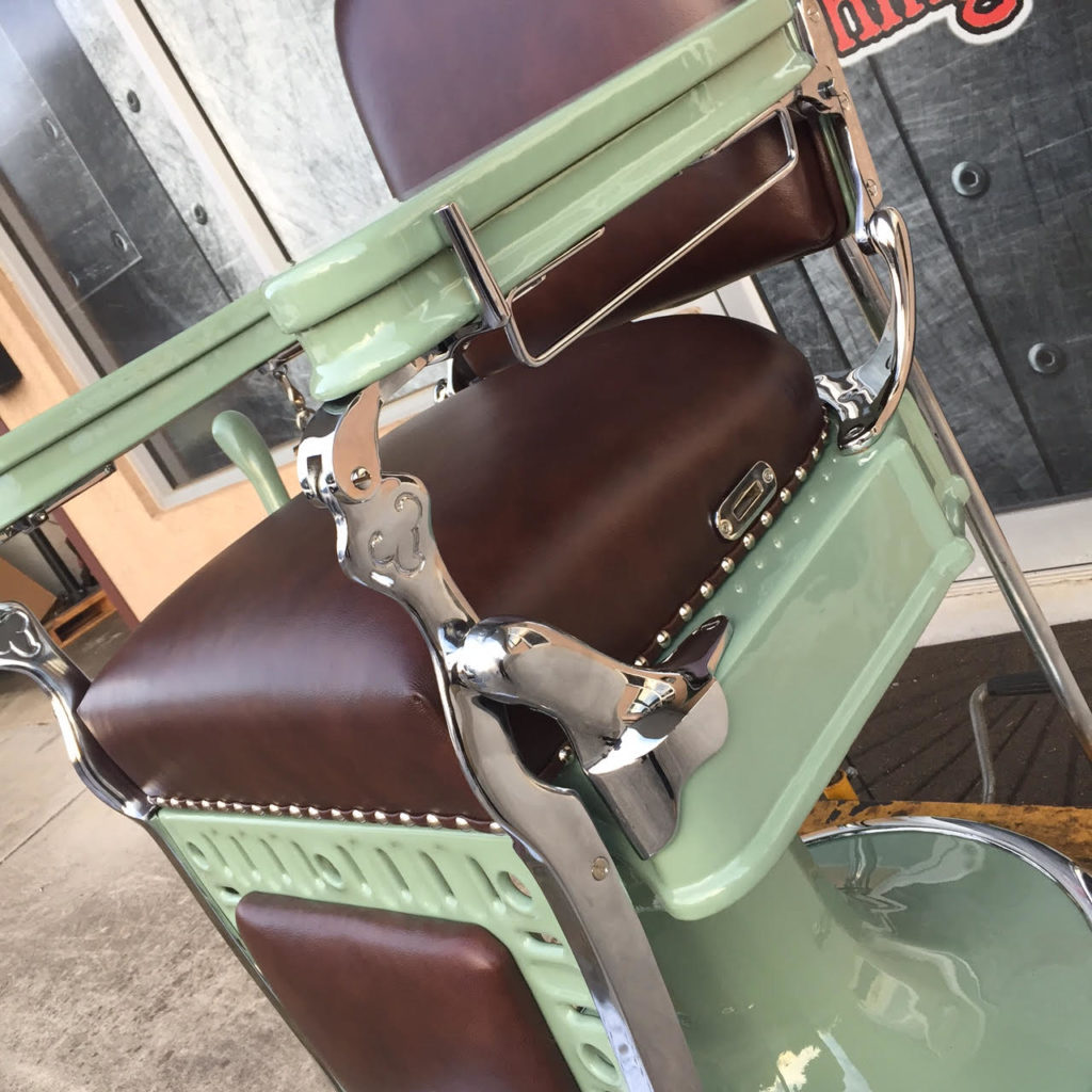 Barber Chair Parts Project Antique Barber Chairs Welcome To Custom Barber
