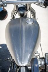 Der Cole-Foster-Tank gibt dem Bike eine schlanke Linie