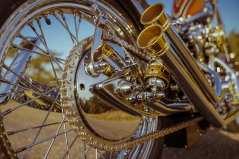 Einzelstück: Die Schwinge ist ein speziell für das Motorrad konzipiertes teil