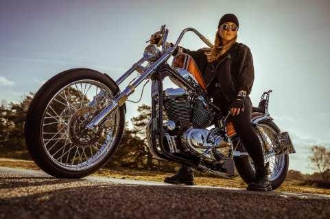 Die »King of the Kings«-Harley ist das persönliche Bike von Kim Bergerforth