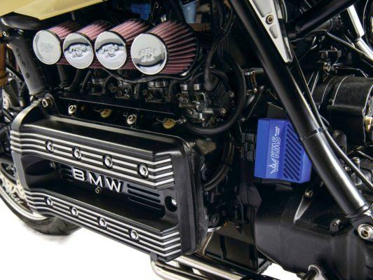 Bei der Gemischaufbereitung hilft nur radikales Vorgehen: alles rausschmeißen und eine frei programmierbare Einspritzanlage installieren. RF-Biketech plant ein entsprechendes Kit für BMWs K-Modelle aufzulegen