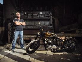 Hermanns Traum seit 25 Jahren – das eigene Custombike