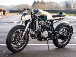 Heute würde man die »Sabre« wohl als Naked Bike einstufen, perfekt also für einen Racer-Umbau