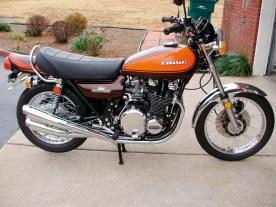 Jeroens Kawasaki Z900 im Originalzustand