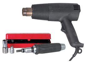 Heißluftpistole und Handschlagschrauber: Beide Werkzeuge wurden an dieser Stelle schon einmal vorgestellt, denn sie begleiten Martin schon sein halbes Schrauberleben
