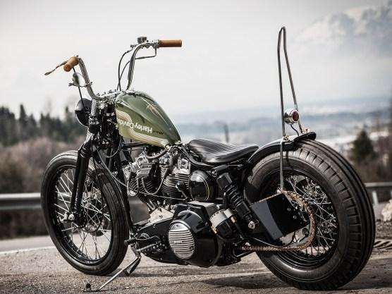 »Den vielzitierten Mythos verkörpern neue Harleys für mich einfach nicht mehr. Daher kommen für mich nur alte V-Twins in Frage, die nach den Regeln der alten Schule umgebaut werden«