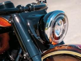 Lampenverkleidung, ebenfalls von Thunderbike