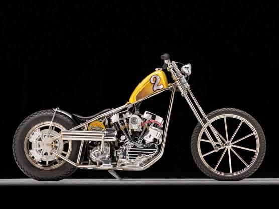 Harley Panhead: Skinny Chopper