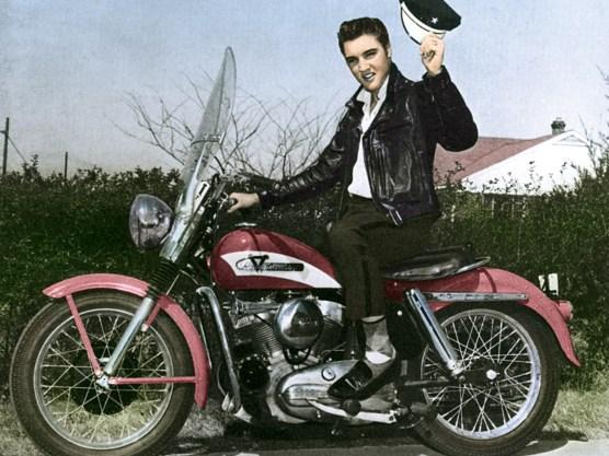 Elvis ist schon länger weg, jetzt folgt ihm die Sportster. Wir sagen goodbye …