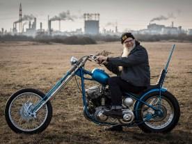 »Normalerweise baue ich ein Motorrad einmal roh und unlackiert auf und fahre es, um alles zu testen« sagt Markus. Bei dieser Panhead lief es anders