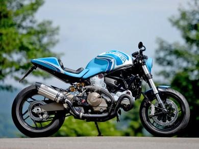 Diese Ducati Monster hat Michael vor einigen Jahren für unser Schwestermagazin ROADSTER veredelt