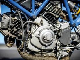 Der Motor blieb unangetastet. Lediglich die Vergaser wurden aufbereitet und mit neuen Luftfiltern von K&N versehen