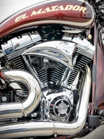 Der 1800er Screamin' Eagle-V2 bringt 100 PS und schiebt mit ordentlichen 160 Newtonmetern an