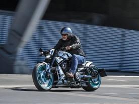 """Unbesiegbare Waffe: """"Invincible"""" nennt Dream Bikes seinen V-Rod-Umbau, der eine Night Rod Special als Basis hatte"""