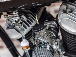 Diebstahlschutz bietet der abschließbare Benzinhahn