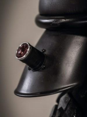 Minimalistisches Zubehör unterstreicht den klassischen Look der Yamaha SR 500