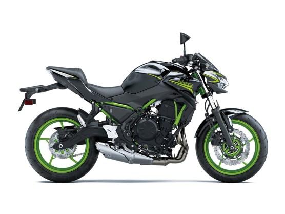 Das ist übrigens die Basis: Kawasaki Z 650 im futuristischen Sugomi-Look