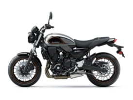 … als auch für Metallic Moondust Gray/Ebony verlangt Kawasaki 150 Euro Aufpreis