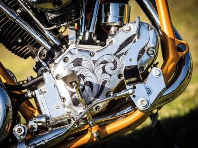 Komplett neu aufgebauter Motor ...