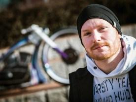 Jederzeit bereit, verrückte Ideen umzusetzen: Roy hat es durchgezogen und ein äußerst ungewöhnliches E-Bike auf die Räder gestellt – auch wenn es nur als Dekostück dient