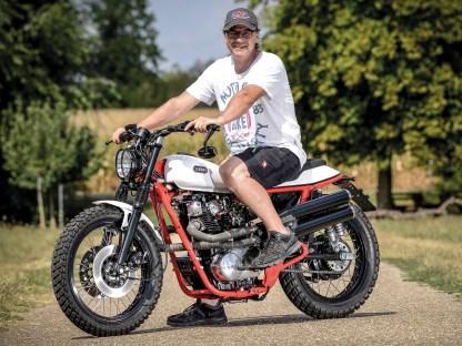 Ein Motorrad-Enthusiast wie Karl-Heinz hat hohe eigene Ansprüche, Halbherzigkeit ist nicht sein Ding. Seine Motorräder werden liebevoll und bis ins kleinste Detail aufgebaut. Genau richtig für das zweite Leben der XS 650 als Scrambler