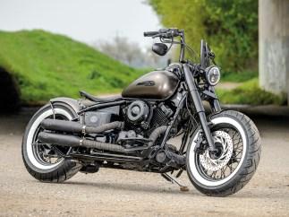 Perfekte Basis für Bobber- oder Chopperumbauten, vor allem dank ihrer Starrrahmenoptik: Yamaha XVS 650 Dragstar