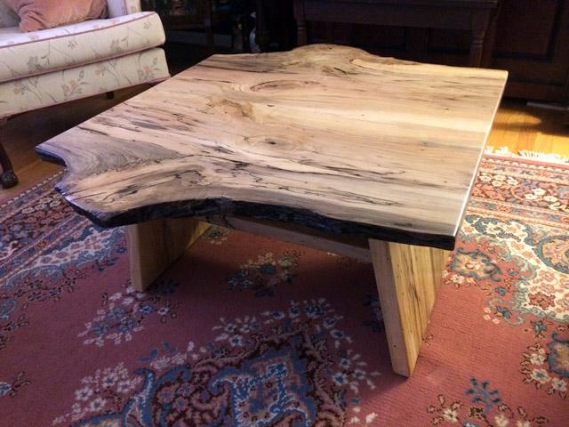 Magnolia Wood Coffee Table Evan Wittels Live Natural Edge