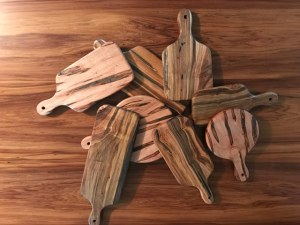 cutting boards Evan Wittels wood