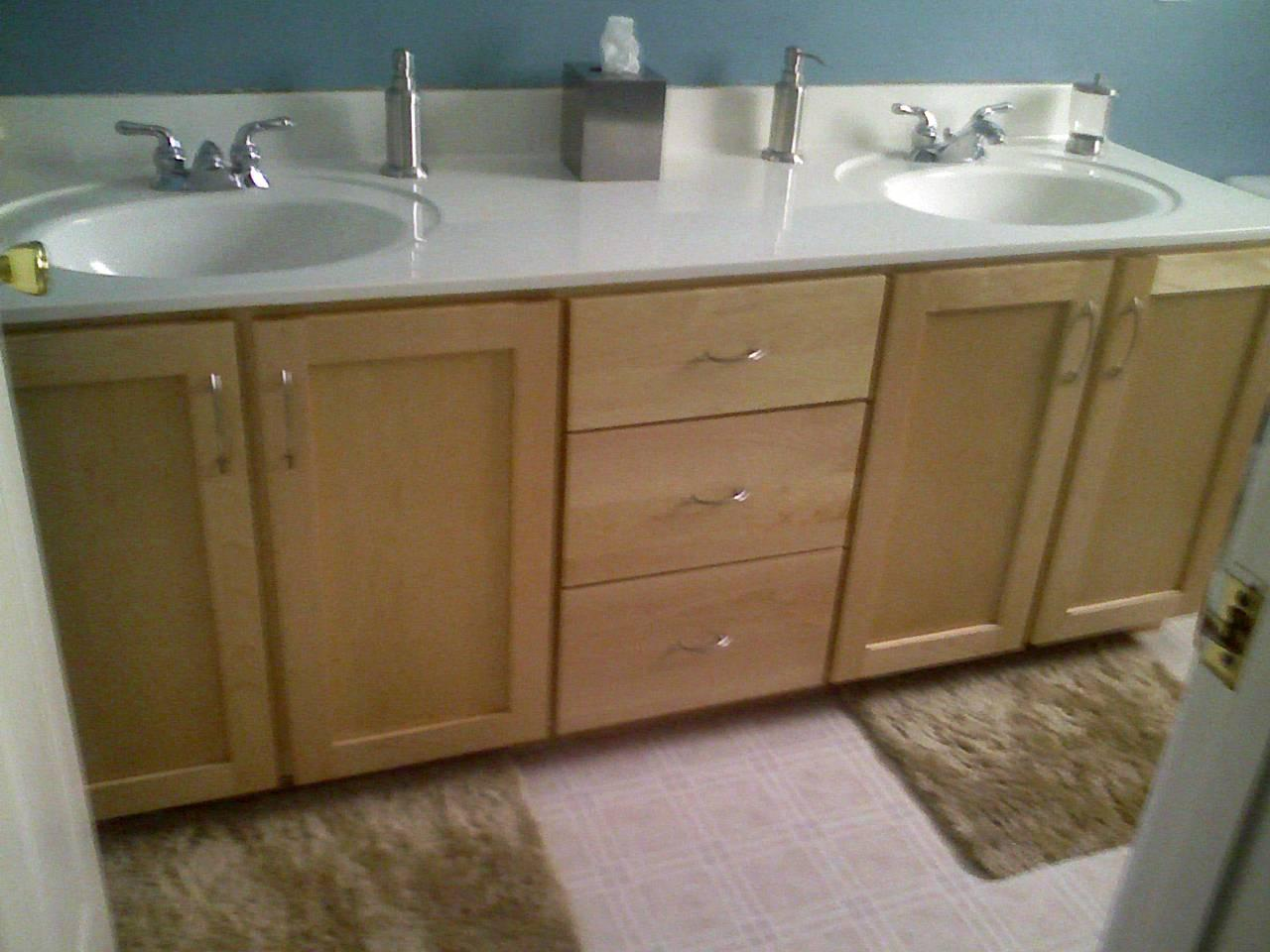 Custom Cabinets Refacing & Tops  Our Work