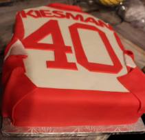 Red Wings 40th Cake