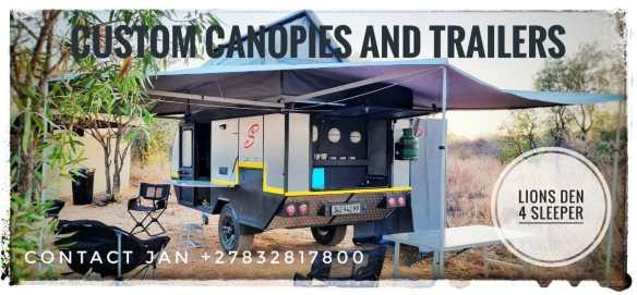 lions den supreme 4 sleeper - custom trailer
