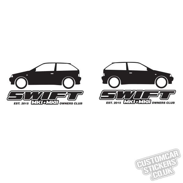 Mk1 & Mk2 Suzuki Swift Owners Club [Mk2 x 2]