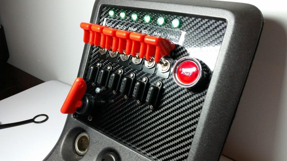 medium resolution of custom switch panels custom cluster development led rocker switch wiring diagram lighted rocker switch wiring