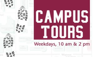 Campus Tours this way.