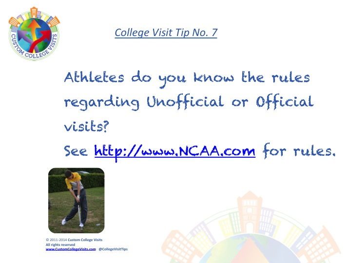 NCAA Rules for College Visits Custom College Visits
