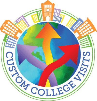 Custom College Visits Logo