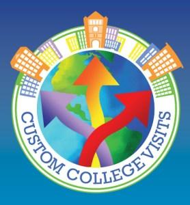 Custom College Visits Logo