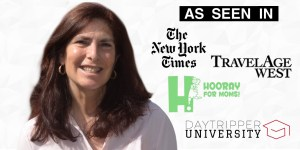 Janice Caine featured in NYTimes, TravelAge West, Hooray for Moms, DayTripper University