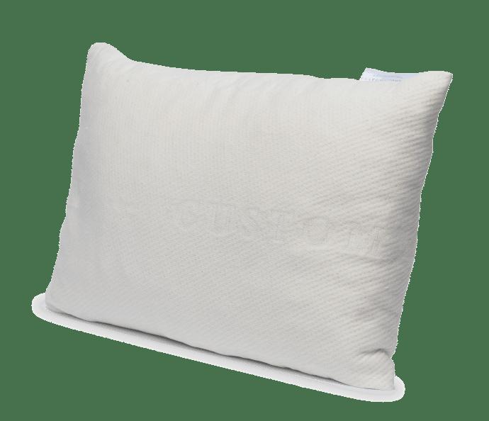 shredded latex travel pillow
